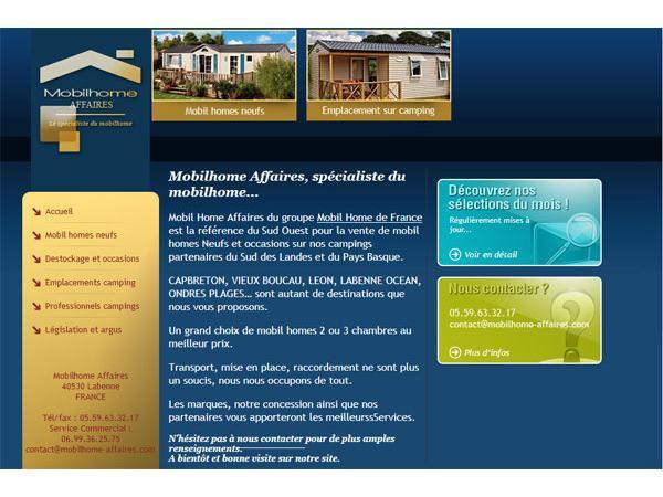 Mobilhome Affaires