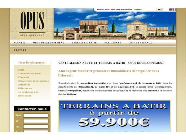 Aménageur foncier et promoteur immobilier en Languedoc Roussillon