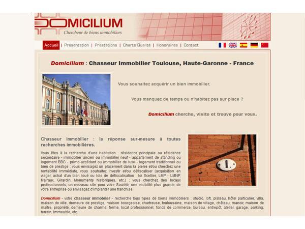 DOMICILIUM - Conseil et Chasseur Immobilier
