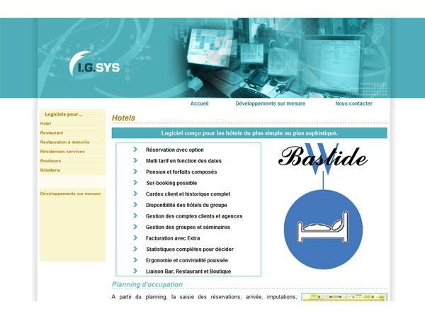 IGSYS Informatique Hôtellerie Gestion Hôtelière