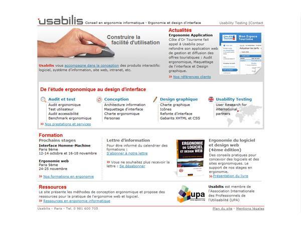Usabilis, conseil en ergonomie informatique