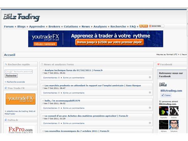 Blitztrading, trading Forex pour tous