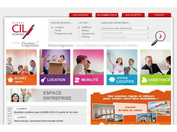 Groupe CIL Atlantique - Financement projet immobilier