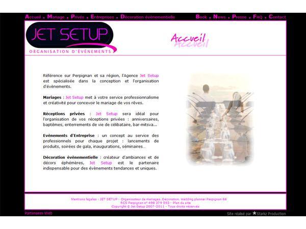 Jet Setup - Organisation mariage Perpignan - Décoration Mariage Perpignan