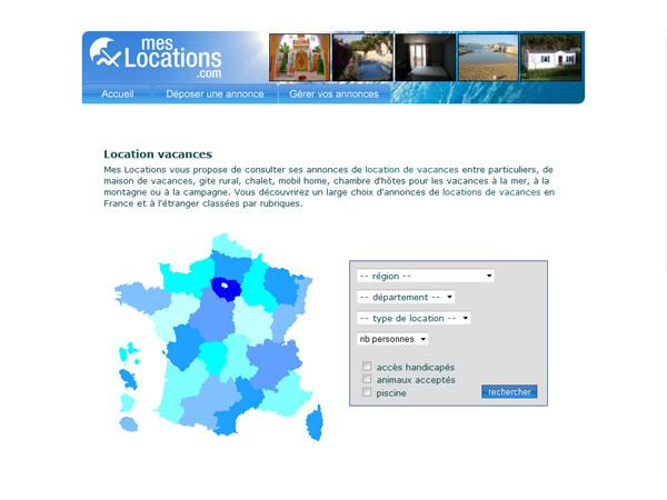 Mes locations