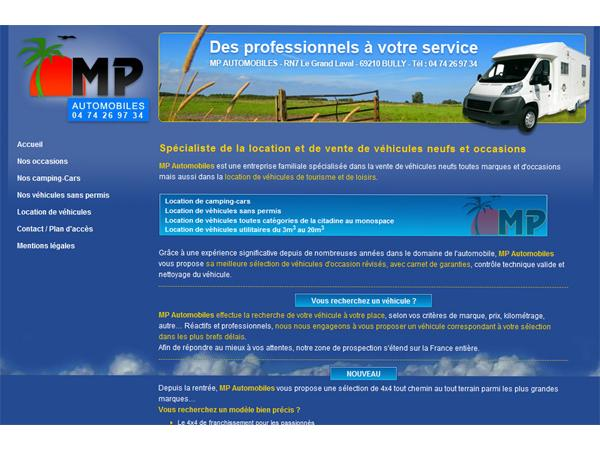 MP Automobiles vente voitures occasions LYON