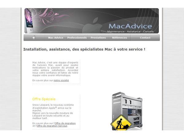 MacAdvice - Spécialiste Mac