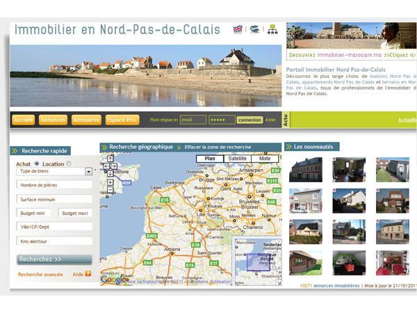 Immobilier Nord Pas de Calais