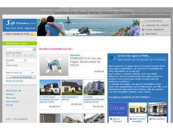 Portail Immobilier Finistère