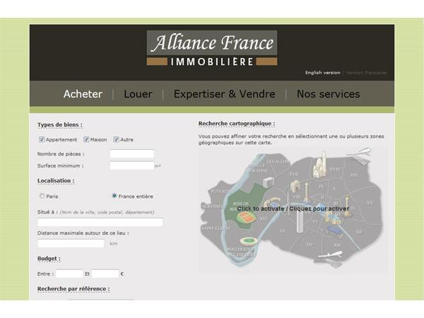 ALLIANCE Franceimmobilière