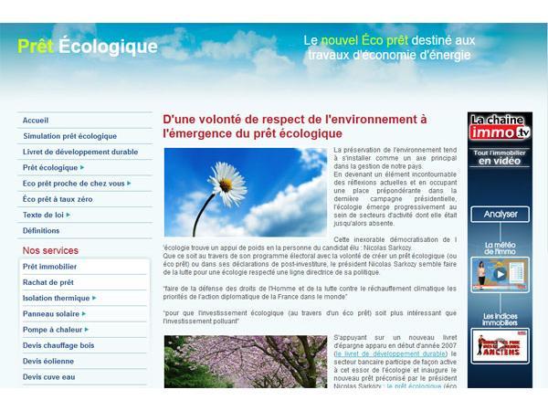 pret ecologique