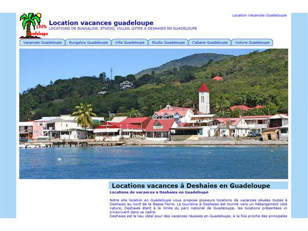 Location vacances Guadeloupe