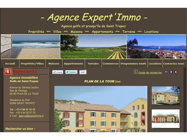 Agence Expert Immo - Plan de la Tour