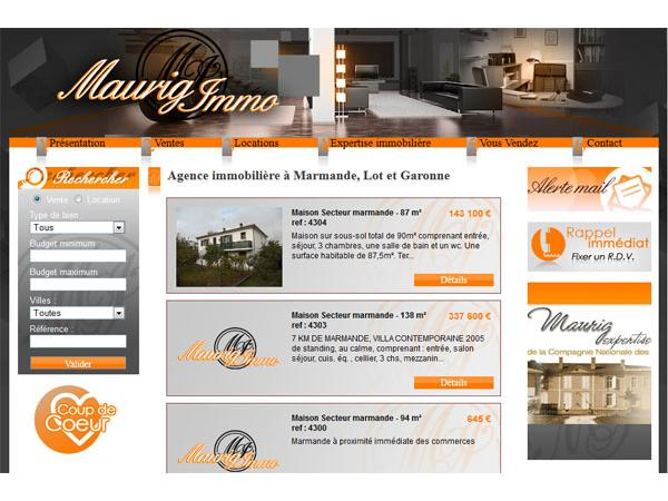 Agence Immobilière Maurig Immobilier