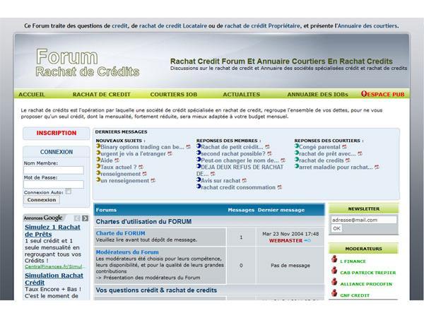 forum crédit & rachat de credits
