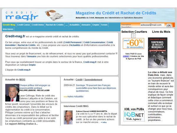 Magazine du crédit