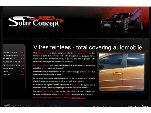 Film solaire batiment et automobile à Fréjus Var