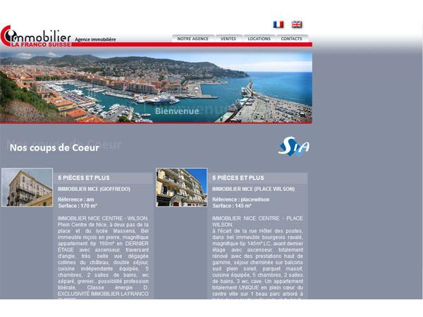 Immobilier Nice ? Agence immobiliere ? Vente location appartement villa