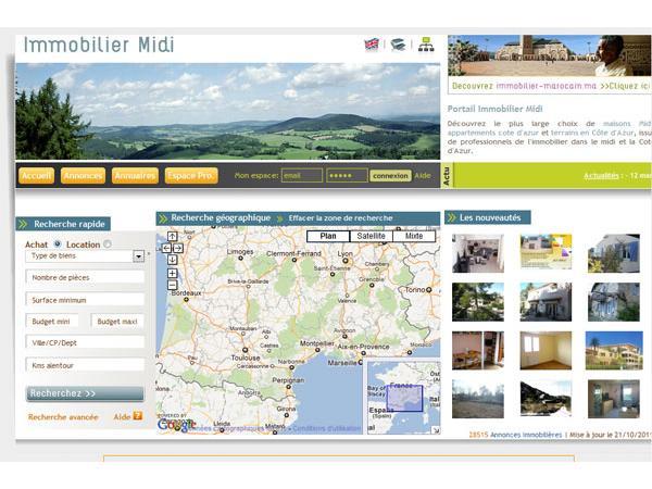 Immobilier Midi