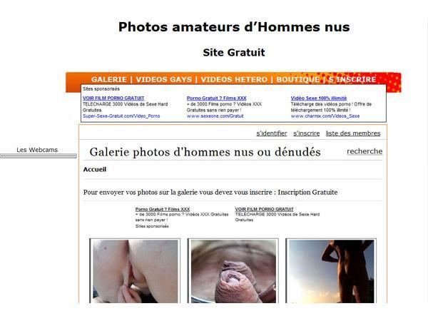 photos d'hommes nus