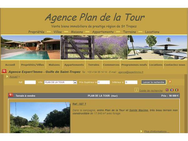 Agence Plan de la Tour - Expert'Immo