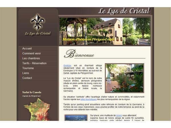 Le Lys de Cristal - Chambres d'hotes, gite près Sarlat en Périgord noir