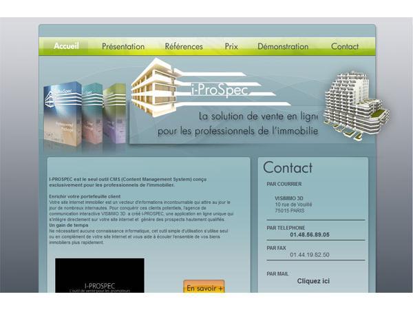 I-prospec : l'outil d'aide à la vente de biens immobiliers pour promoteurs