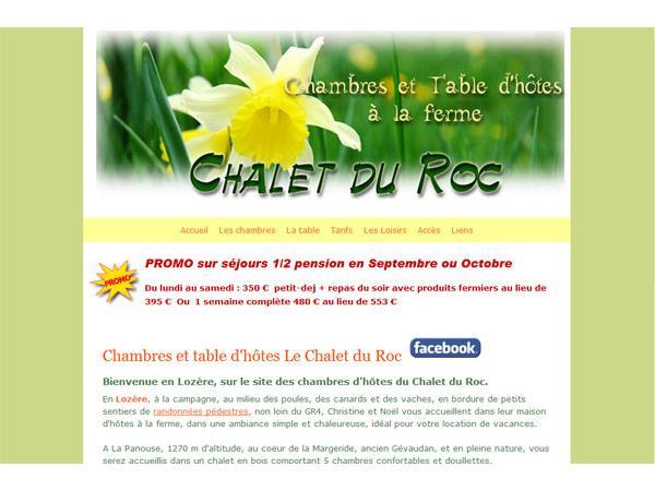 Chalet du Roc en Lozère