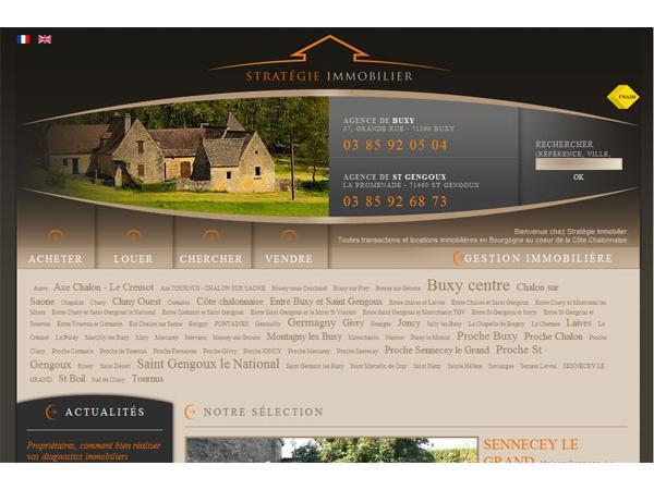 Immobilier Bourgogne, Stratégie Immobilier Saone et Loire