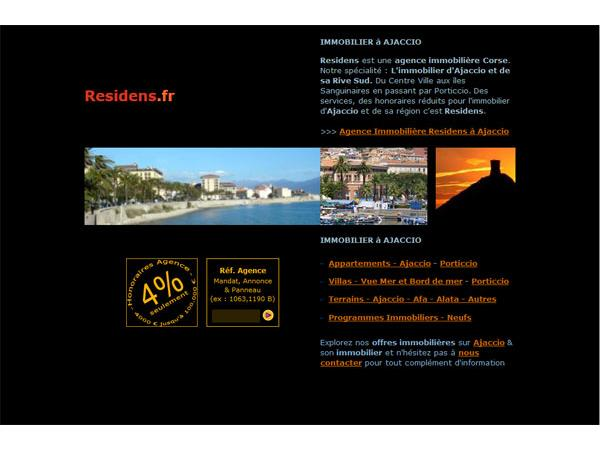 Residens : Votre Agence Immobiliere a Ajaccio