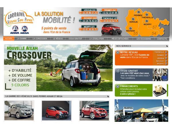 Lorraine VSP: concessionnaire voiture sans permis