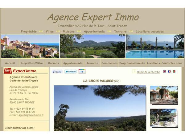 Immobilier Plan de la Tour - Agence Expert'Immo