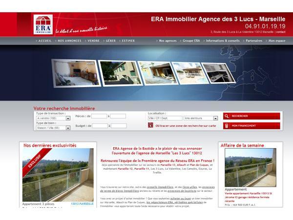 Annonces de l'agence immobiliere ERA la Bastideà Marseille