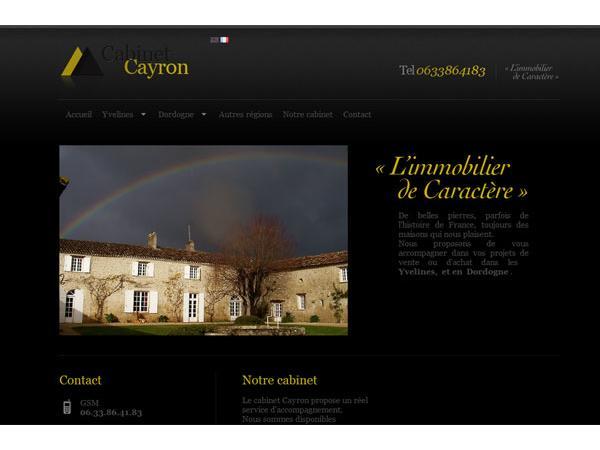 l'immobilier de caractere en France