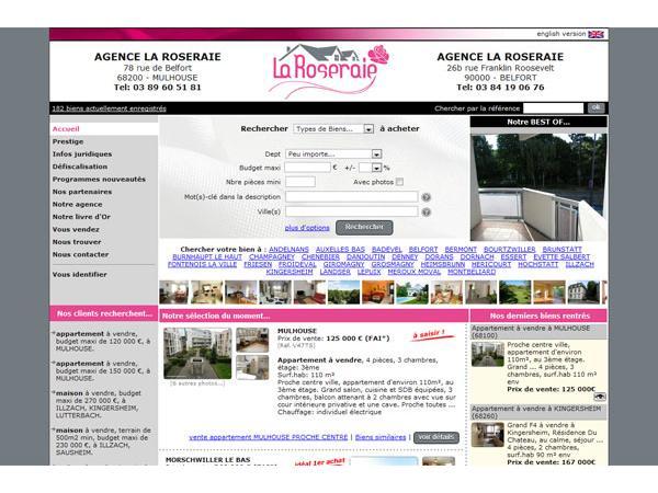 Agence immobilière Mulhouse - Agence la Roseraie