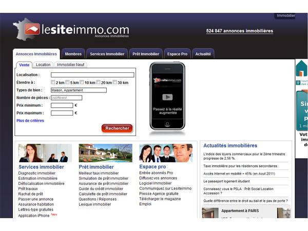 Immobilier: 1er Portail d?annonces immobilières