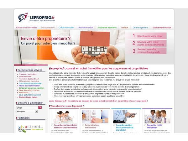 Leproprio.fr, le partenaire de votre achat immobilier en France