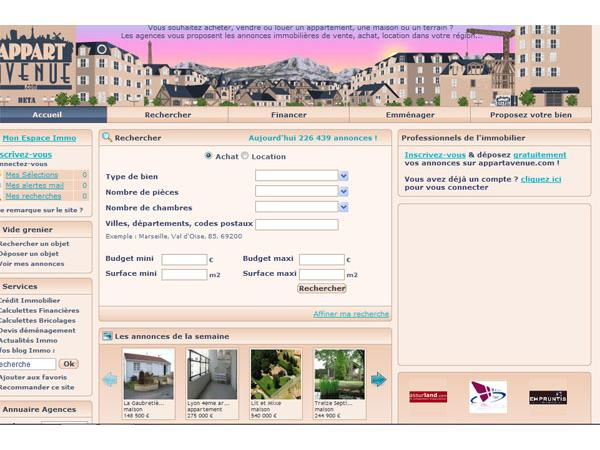 Achat Vente Location sur Appartavenue.com