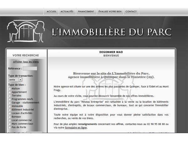 L'immobilière du Parc - Quimper - Location - Vente