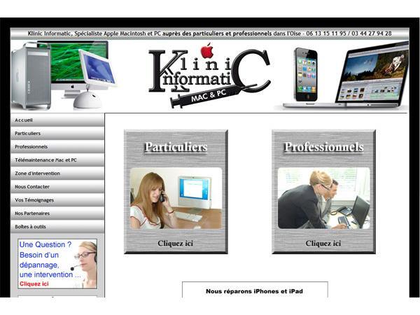 Klinic Informatic, spécialiste Apple Macintosh et PC