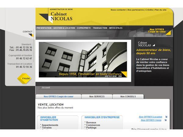 Cabinet Nicolas - Gestion de patrimoine immobilier