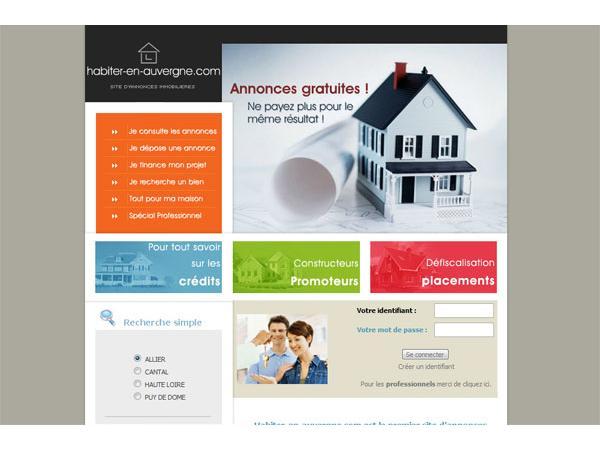 Fichier central des biens immobiliers à vendre en auvergne