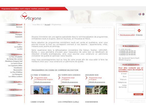 Défiscalisation et Programme Immobilier Provence & Avignon - Alcyone
