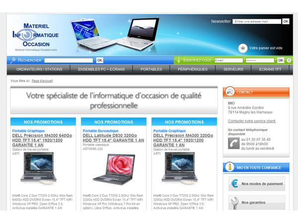 Vente informatique occasion : Materiel Informatique Occasion