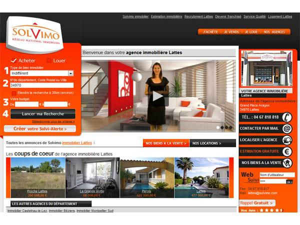 Solvimo Immobilier Lattes