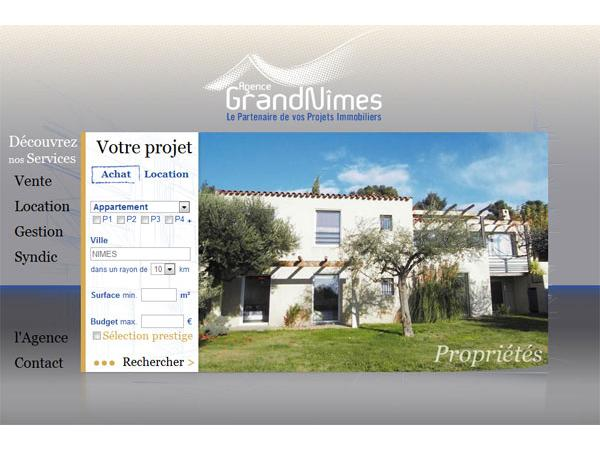 agence grand nimes immobilier