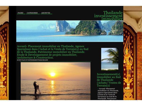 thailande investissement immobilier