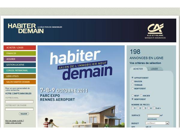 Habiter Demain : immobilier bretagne