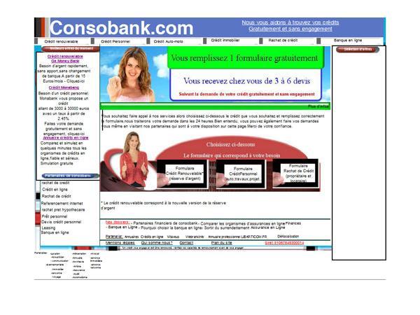 Consobank.com,prêt immobilier en ligne