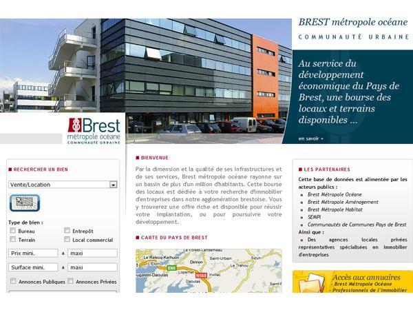 Brest métropole océane immobilier entreprise